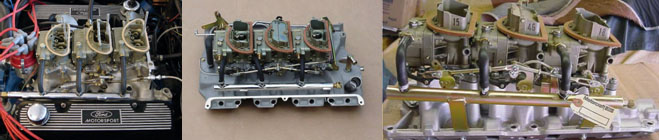 Ford 6V Carburetion Systems